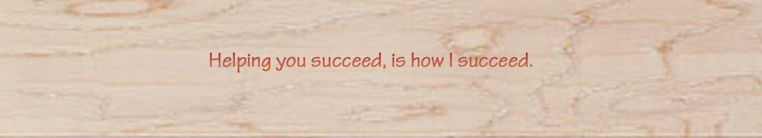 Header succeed quote copy
